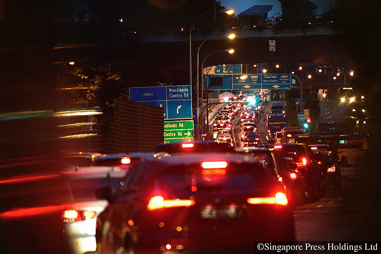 traffic jams up to 8 hours at both checkpoints
