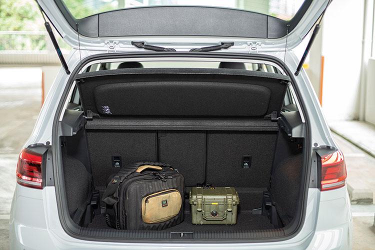 Volkswagen Golf SV – Boot