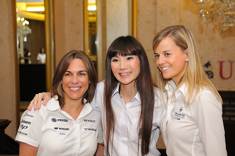 w series women in motorsport_claire williams, lynn tan and susie wolff