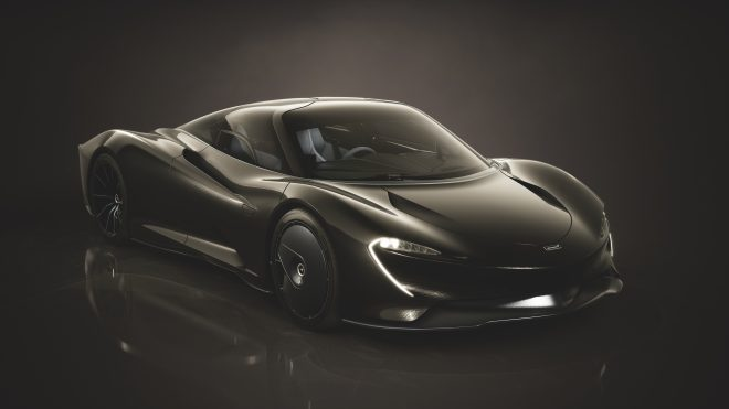 McLaren Speedtail Stratosphere