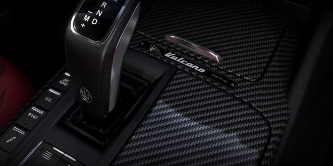 Maserati Levante Vulcano interior