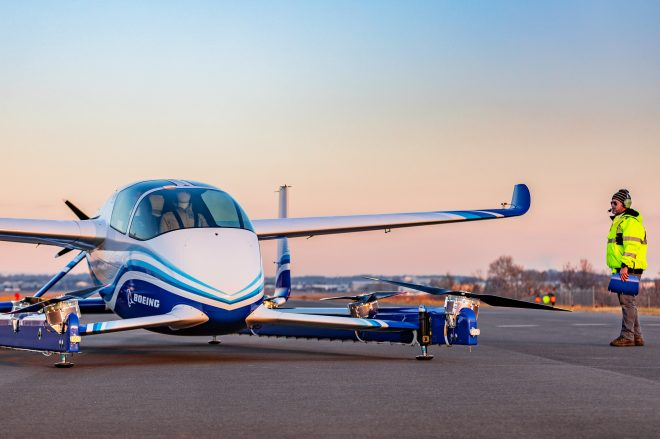 Boeing autonomous passenger air vehicle