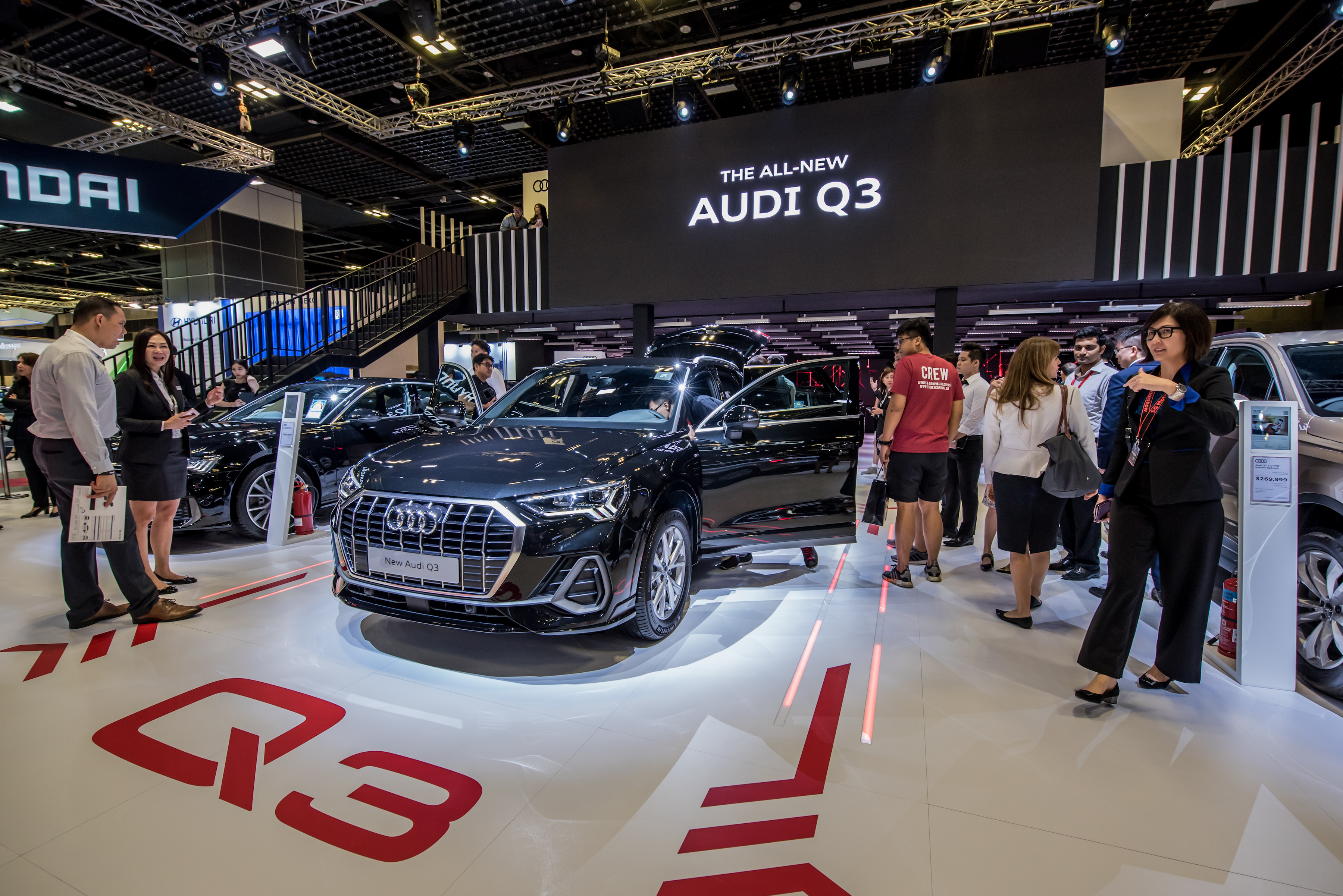 Audi Q3 Unveiled In Singapore With Larger Interior More Tech Torque