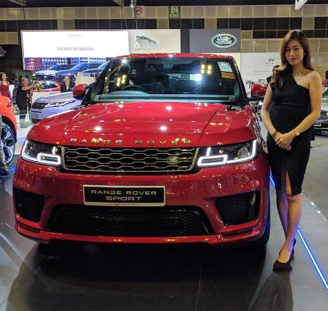 Range Rover P400e plug-in hybrid electric vehicle