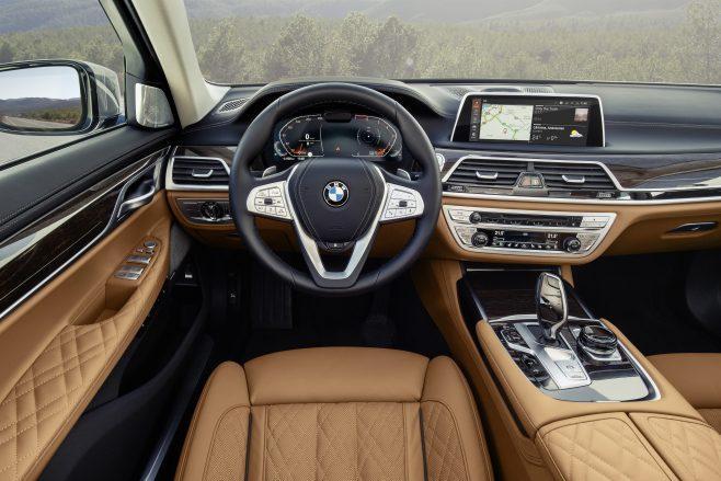New 7 Series interior