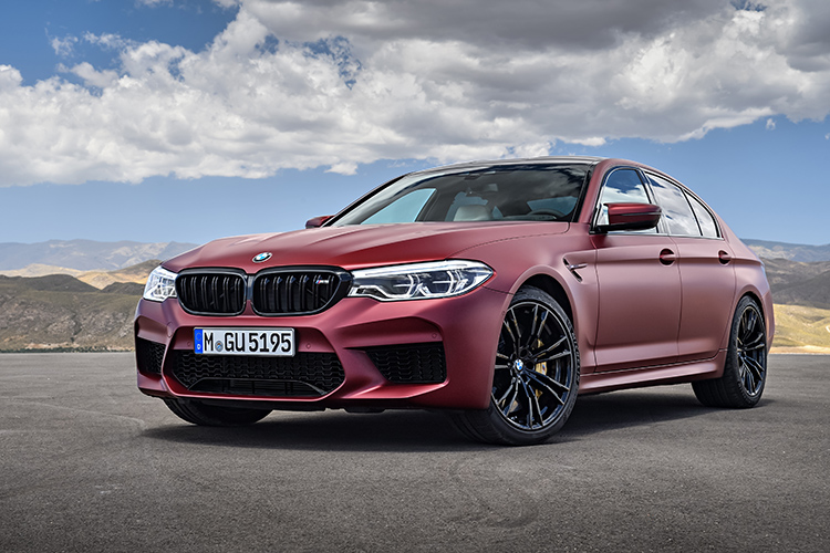 bmw m5 front angle