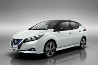 Nissan leaf electric vehicle sounds
