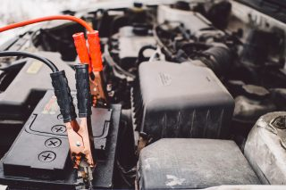 jumper cables car jumpstart