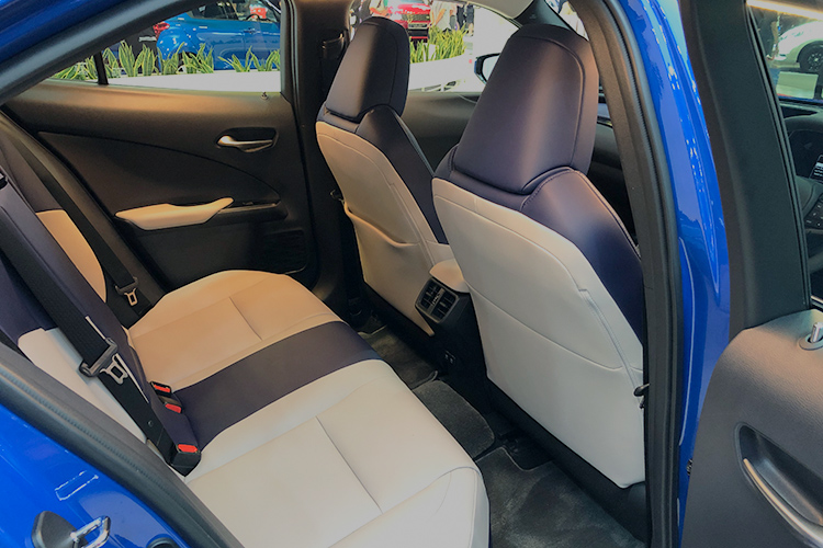 lexus ux backseat