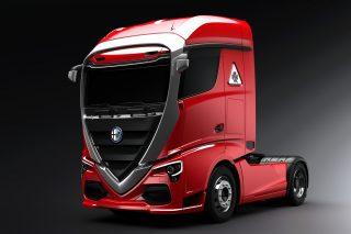 Alfa Romeo truck concept