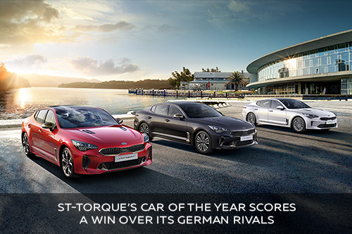 ST-Torque's Car of the Year scores a win over its German rivals