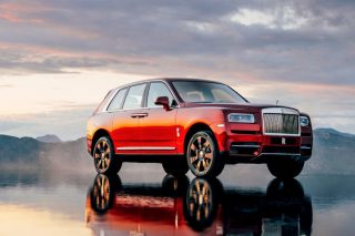 Rolls-Royce Cullinan luxury car brand