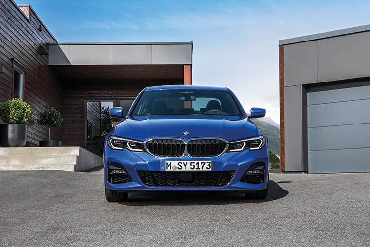 New BMW 3 Series, the brand's latest junior executive saloon