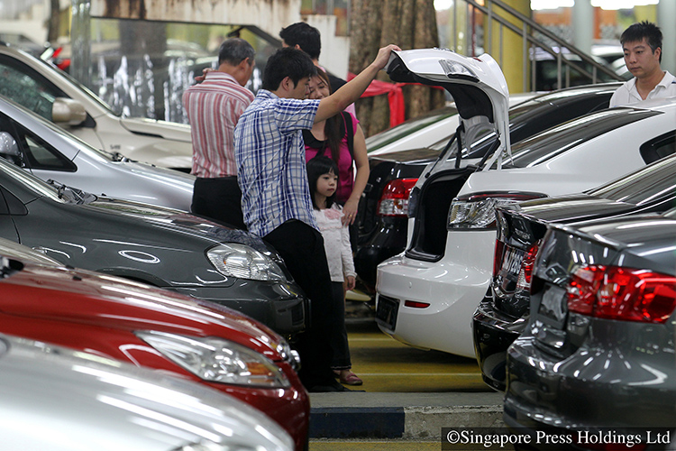 coe prices rise after first round of bidding in February 2019