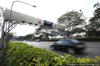 erp gantries with no charges in the morning