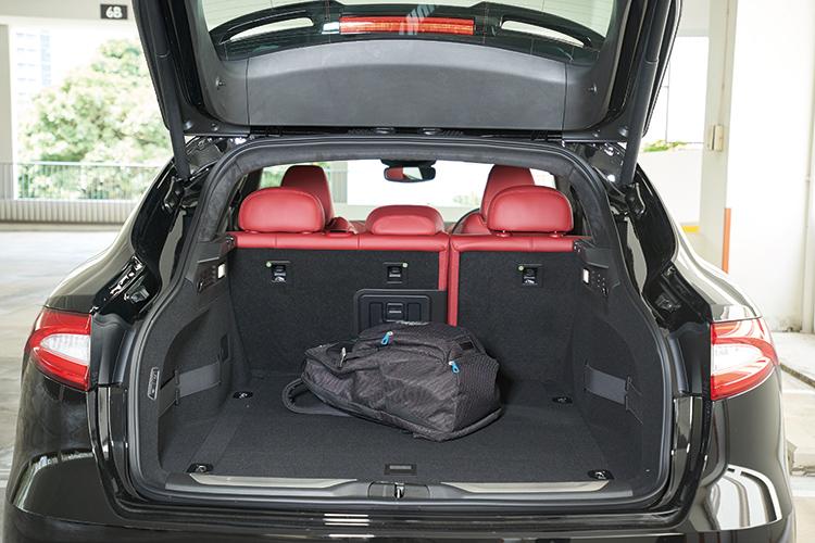 Maserati Levante S – Boot