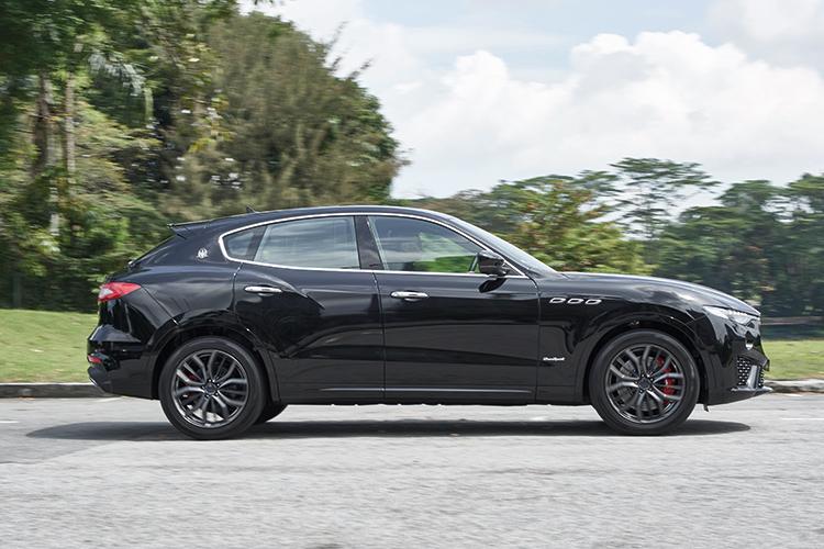 Maserati Levante S – Ride & Handling