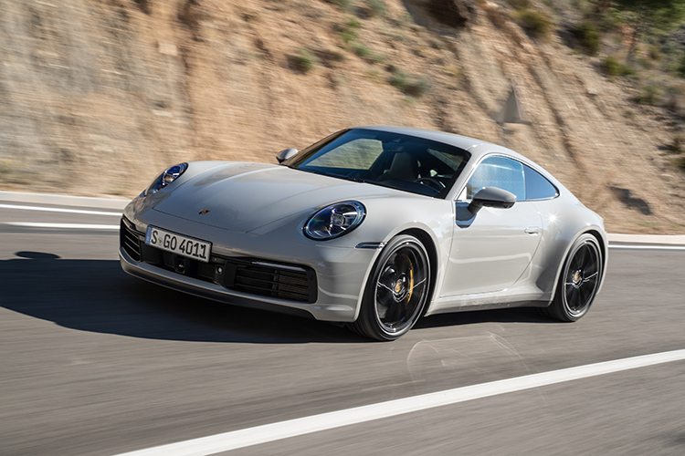 porsche 911 carrera s driving