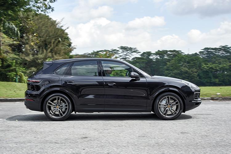 Porsche Cayenne S – Ride & Handling