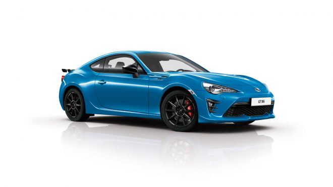 Toyota 86 blue front