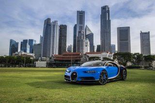 Bugatti Chiron Singapore