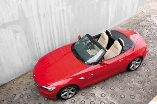 bmw z4 top down
