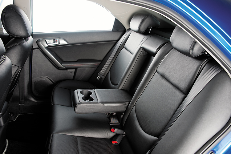 Cerato Forte – Backseat