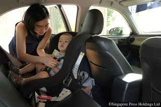 child seats still not being used by many parents