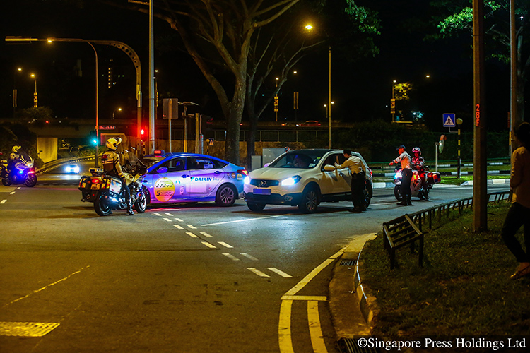 drink driving and other traffic offences rising in singapore