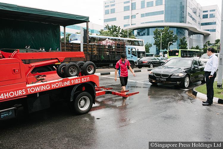 how do i tow my car