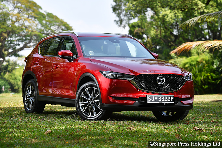 New Mazda Cx 5 2 5 Suv Wows With Its Handling And Equipment