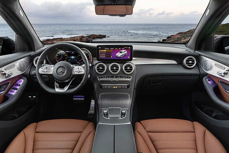 mercedes-benz glc interior