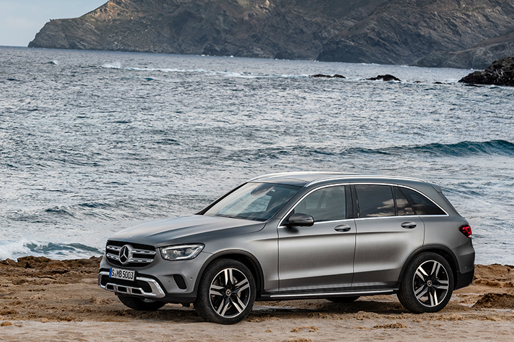 mercedes-benz glc static