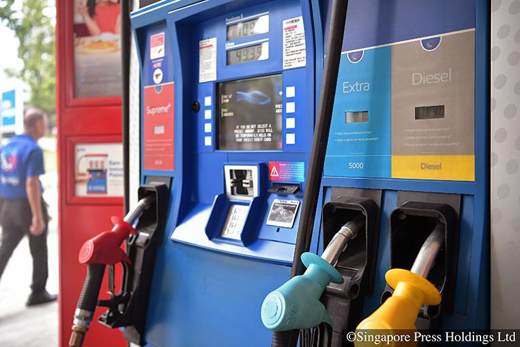 petrol price singapore