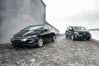 prius and insight front