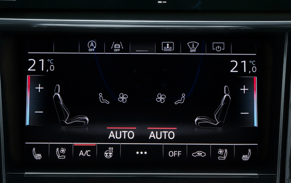 stop start system in an audi a8