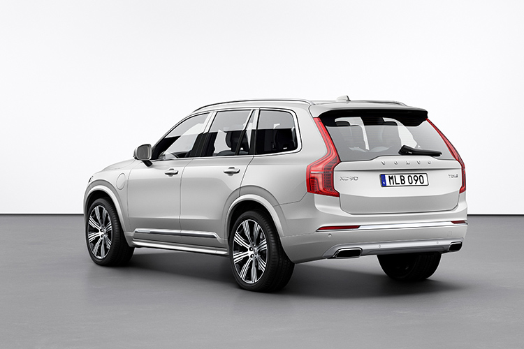 volvo xc90 rear static