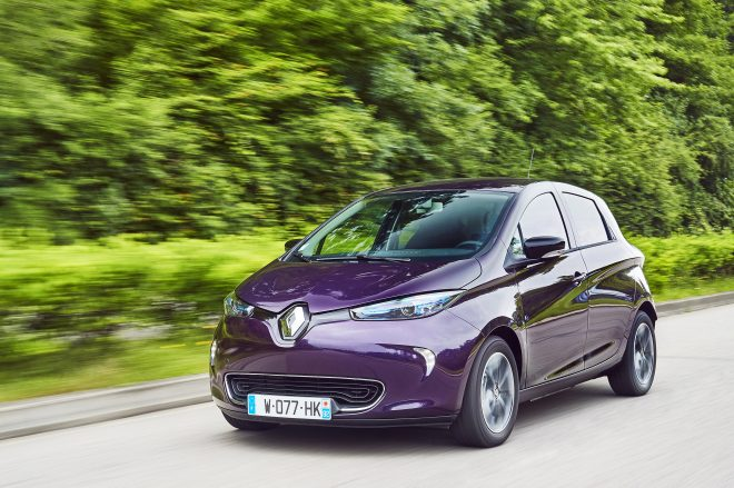 Renault zoe electric vehicle sounds