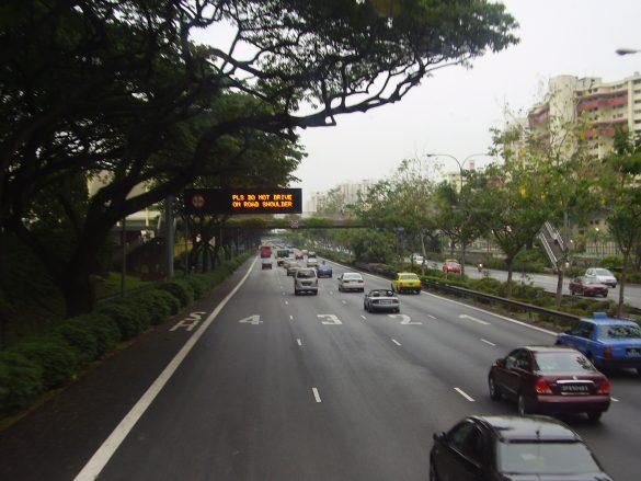 road shoulder