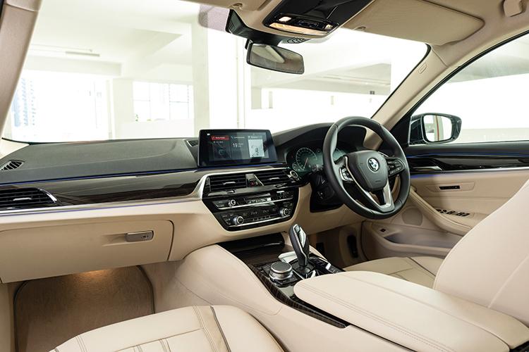 BMW 520i – Cockpit