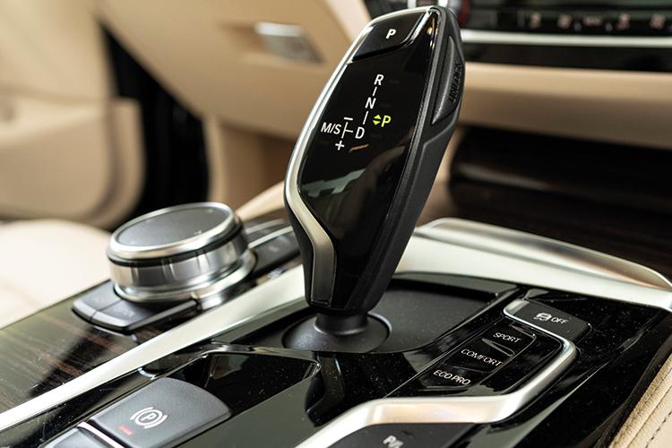 BMW 520i – Gearbox