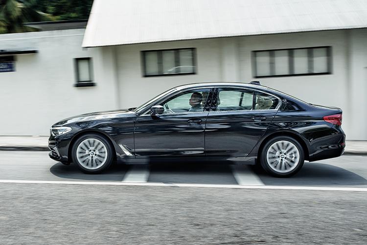 BMW 520i – Ride & Handling