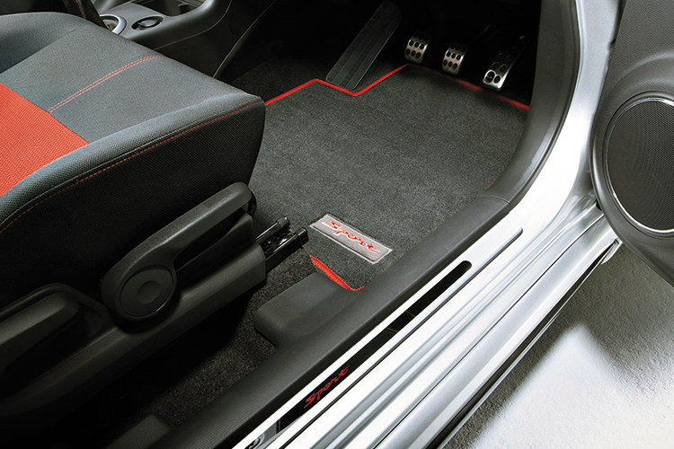 car interior cleaning floor mats