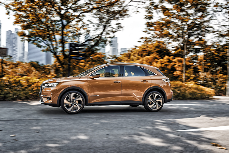 ds 7 crossback driving