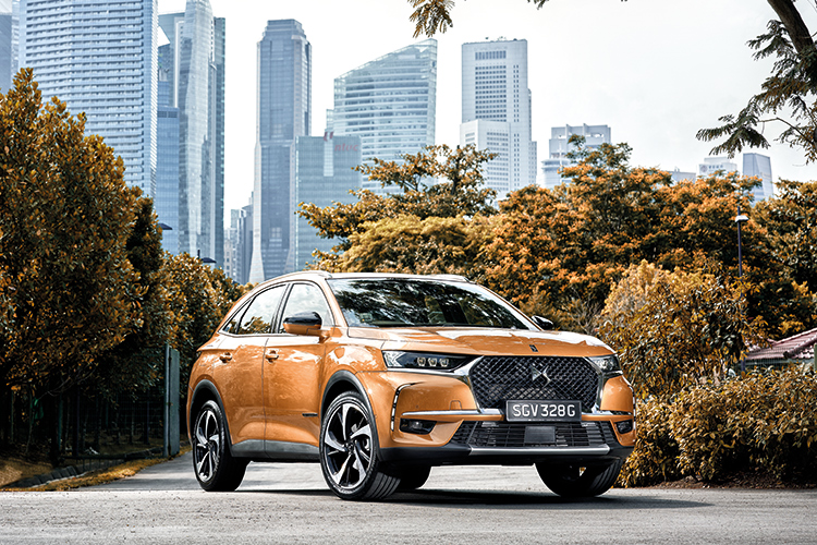 ds 7 crossback front static