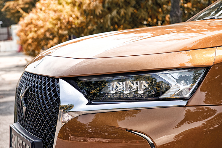 ds 7 crossback headlamps