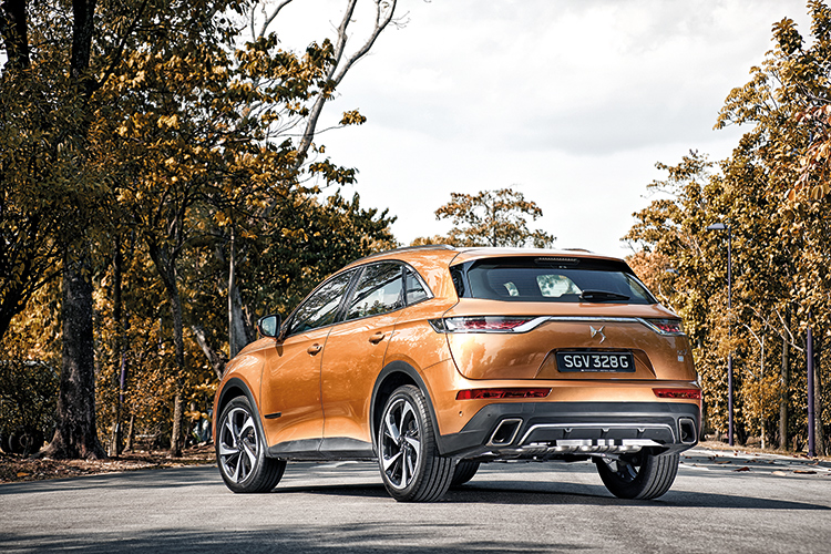 ds 7 crossback rear static