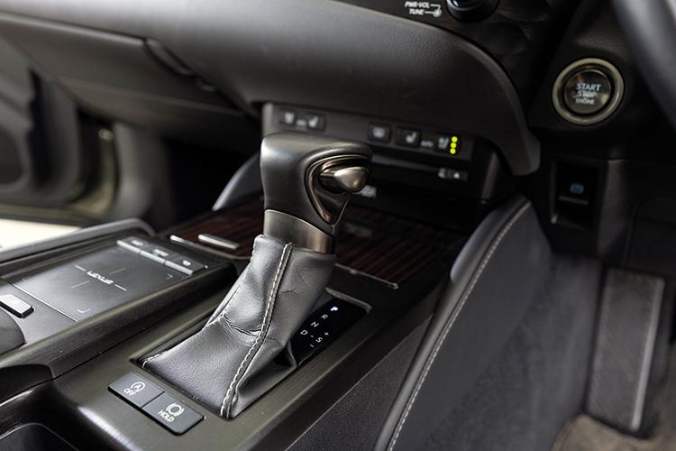 Lexus ES250 – Gearbox
