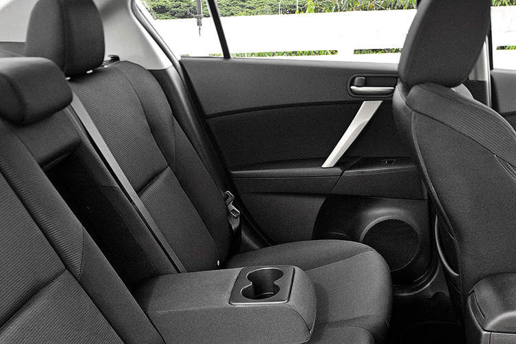 mazda 3 backseat
