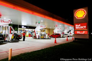 shell launches new fuels in singapore